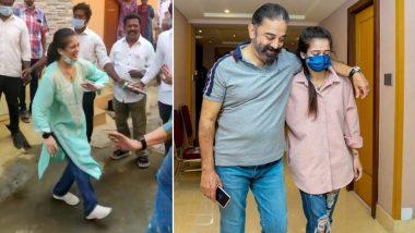 Kamal Haasan के लिए चुनाव प्रचार कर रही बेटी Akshara Haasan ने किया धमाकेदार डांस, कोयंबटूर से Viral हुआ Video