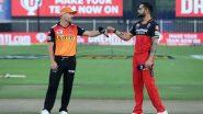 SRH vs RCB 6th IPL Match 2021: यहां पढ़ें आईपीएल इतिहास में अबतक एक दूसरे के खिलाफ सनराइजर्स हैदराबाद और रॉयल चैलेंजर्स बैंगलौर का कैसा रहा है प्रदर्शन