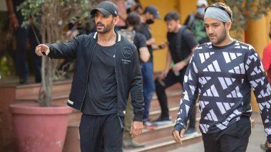 John Abraham ने शुरू की Shah Rukh Khan और Deepika Padukone स्टारर 'Pathan' की शूटिंग, सेट से Leak हुई ये Photo