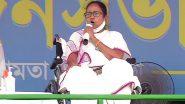 पश्चिम बंगाल की मुख्यमंत्री ममता बनर्जी की TMC की BJP को ललकार, राज्यसभा सीट में उम्मीदवार नहीं उतारने को लेकर साधा निशाना