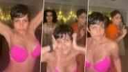 Mandira Bedi ने गुलाबी बिकिनी पहनकर किया हॉट डांस, बर्थडे पर पोस्ट किया बोल्ड Video
