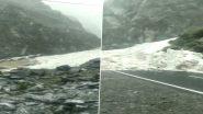 Himachal Pradesh: बारिश-बर्फबारी से मौसम हुआ खुशनुमा, लौटी ठंड- Video