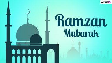 Ramzan Mubarak 2021 HD Images: अल्लाह की इबादत का पाक महीना है रमजान, इन WhatsApp Stickers, Photo Messages, Wallpapers, GIFs के जरिए दें मुबारकबाद