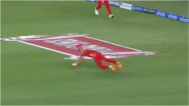 PBKS vs RCB 26th IPL Match 2021: रवि बिश्नोई ने हवा में छलांग लगाकर पकड़ा हैरतअंगेज कैच, वीडियो देखकर आप भी हो जाएंगे आश्चर्यचकित