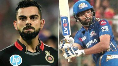 MI vs RCB 1st IPL Match 2021: यहां पढ़ें आईपीएल इतिहास में अबतक मुंबई इंडियंस और रॉयल चैलेंजर्स बैंगलौर के बीच कैसा रहा है मुकाबला