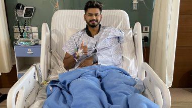 Shreyas Iyer के कंधे का हुआ सफल ऑपरेशन, फोटो शेयर कर कहा जल्द वापसी करूंगा