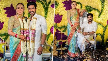 PHOTOS: बैडमिंटन प्लेयरJwala Gutta ने साउथ एक्टर Vishnu Vishal से की शादी, देखें वेडिंग सेरेमनी की स्पेशल तस्वीरें