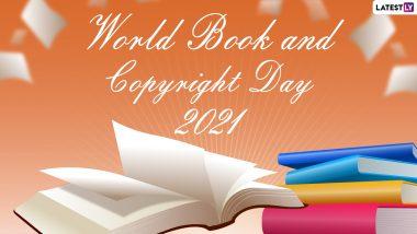 World Book and Copyright Day 2021: विश्व पुस्तक और कॉपीराइट दिवस आज, जानें इतिहास, थीम और इसका महत्व