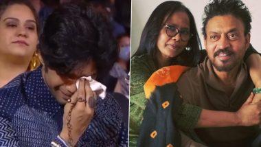Irrfan Khan कोयाद कर रोते दिखे बेटे Babil Khan, मॉम Sutapa Sikdar ने फोटो शेयर लिखा- मेरा बेटा बड़ा कड़क लौंडा है