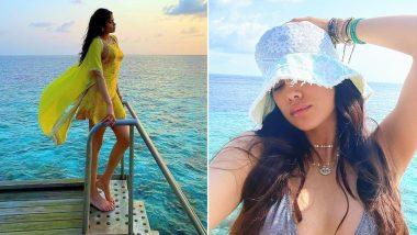 Janhvi Kapoor Hot Photos: मालदीव पहुंची जाह्नवी कपूर ने इन हॉट फोटोज से इंटरनेट पर मचाया बवाल