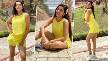 Monalisa Photos: पीले रंग के ड्रेस में दिखा भोजपुरी एक्ट्रेस मोनालिसा का स्टाइलिश अवतार, फैंसभी हुए लट्टू