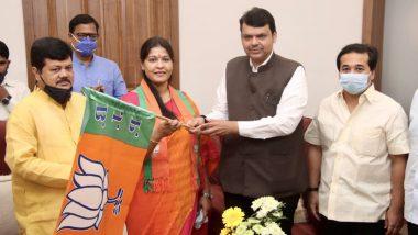 Maharashtra: मातोश्री के आंगन में BJP ने शिवसेना को दिया तगड़ा झटका, पूर्व विधायक तृप्ति सावंत की हुई एंट्री