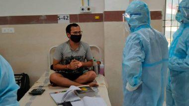 अस्पताल में CA परीक्षा की तैयारी करता दिखा कोविड-19 पॉज़िटिव मरीज़, तस्वीर सोशल मीडिया पर हुई वायरल