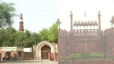 कोरोना की वर्तमान स्थिति के कारण लाल किला, कुतुब मीनार और अन्य ASI स्मारक 15 मई तक रहेंगे बंद