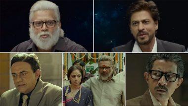 Rocketry Trailer:देशभक्ति सेलैस आर. माधवन का किरदार, कैमियो रोल में दिखे Shah Rukh Khan, देखें फिल्म 'रॉकेट्री' का ट्रेलर