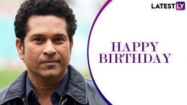 Happy Birthday Sachin Tendulkar: क्रिकेट के भगवान सचिन तेंदुलकर के 48वें जन्मदिन पर इन दिग्गजों ने भेजी शुभकामनाएं