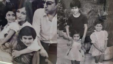 Saif Ali Khan के इस बचपन की फोटो को देख आप भी हो जाएंगे इम्प्रेस, बहन सबा ने शेयर की फैमिली की Rare Picture