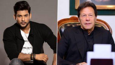 पाकिस्तान के प्रधानमंत्री Imran Khan के Rape वाले बयान पर भड़के Sidharth Shukla, ट्वीट कर कसा तंज!