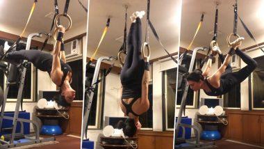 Morning Motivation: Sushmita Sen ने घर पर किया हॉट वर्कआउट, फैंस को मोटीवेट कर रहा एक्ट्रेस का ये Video