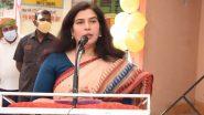 बीजेपी सांसद सरोज पांडे कोविड पॉजिटिव पायी गईं, ट्वीट कर दी जानकारी