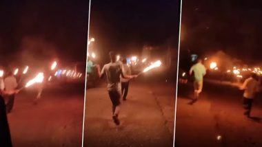 Madhya Pradesh: गणेशपुरा गांव में स्थानीय लोगों ने मशालें जलाकर 'भाग कोरोना भाग' के लगाए नारे, देखें वायरल वीडियो