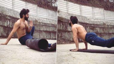 Varun Dhawan Fitness Video: फिल्म भेड़िया के सेट पर वर्कआउट करते दिखाई दिए वरुण धवन, सोशल मीडिया पर शेयर किया वीडियो