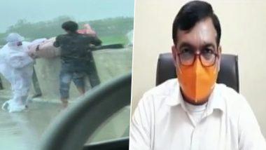 Uttar Pradesh: शव को राप्ती नदी में फेंकने का वीडियो हुआ वायरल, मुख्य चिकित्सा अधिकारी ने कहा- शव को कोविड प्रोटोकॉल के तहत इनके रिश्तेदारों को दिया गया था