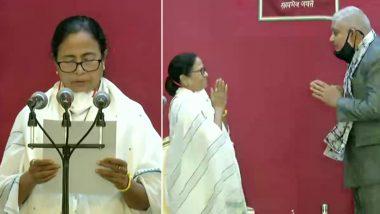 Mamata Banerjee Takes oath: ममता बनर्जी ने पश्चिम बंगाल की मुख्यमंत्री के तौर पर तीसरी बार शपथ ली