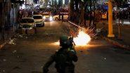 Israel-Palestine Conflict: गाजा से फिलिस्तीनी चरमपंथियों ने इजराइल पर दागे सैकड़ों रॉकेट, भारतीय महिला समेत 32 लोगों की मौत