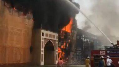 Fire at ND Studios: ऋतिक रोशन-ऐश्वर्या राय की फिल्म 'जोधा अकबर' के शूटिंग सेट एनडी स्टूडियोज में लगी भीषण आग