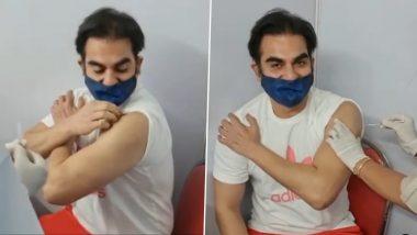 Arbaaz Khan ने लगवाई कोरोना वैक्सीन की पहली डोज, फैंस को दिया ये खास मैसेज