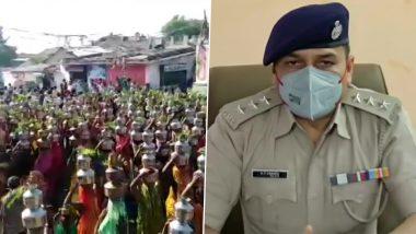 Ahmedabad: धार्मिक आयोजन में उमड़ी सैकड़ों महिलाओं की भीड़, कोरोना नियमों की उड़ी धज्जियां (देखें वीडियो)
