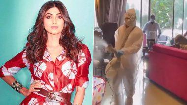 Shilpa Shetty के परिवार ने कोरोना को दी मात, एक्ट्रेस ने पूरे घर को करवाया सैनिटाइज (Video)