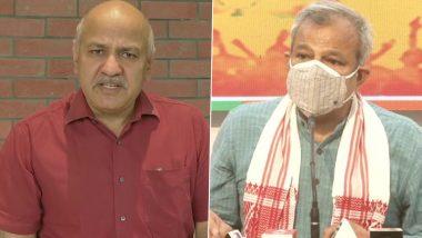 Delhi: कोरोना सकंट के बीच AAP-BJP की 'राजनीति', मनीष सिसोदिया ने केंद्र तो आदेश गुप्ता ने दिल्ली सरकार पर फोड़ा ठीकरा