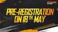 PUBG: Battlegrounds Mobile India Pre-registration- कंपनी ने किया पोस्टर रिलीज, 18 मई से होगा प्री-रजिस्ट्रेशन