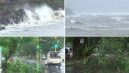 Cyclone Tauktae Update:  गोवा के तटों से टकराया चक्रवाती तूफान तौकते, देखें पणजी का हाल