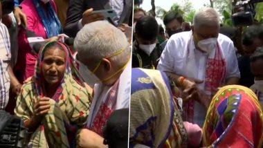West Bengal: राज्यपाल जगदीप धनखड़ ने चुनाव के बाद हुई हिंसा से प्रभावित इलाकों का किया दौरा