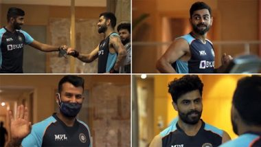 ICC WTC Final 2021: वर्ल्ड टेस्ट चैंपियनशिप के फाइनल की तैयारियों में जुटी टीम इंडिया, जिम में जमकर बहाया पसीना, देखें वीडियो