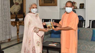 UP Cabinet Expansion: राज्यपाल आनंदीबेन पटेल से मिले सीएम योगी आदित्यनाथ, कैबिनेट विस्तार को लेकर अटकलें हुई तेज