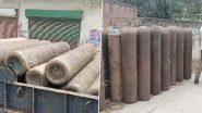Haryana: पुलिस ने अंबाला में एक मकान से 33 खाली ऑक्सीजन सिलेंडर किया बरामद, एक गिरफ्तार