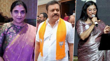 Assembly Elections Results 2021:श्रीप्रिया, सुरेश गोपी समेत इन सितारों ने सियासी मैदान में आजमाई है अपनी किस्मत, देखें पूरी लिस्ट