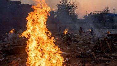 UP Shocker: बलिया में पुलिस की मौजूदगी में टायर और पेट्रोल डालकर जलाये गए गंगा नदी में मिले लावारिस शव, 5 सस्पेंड