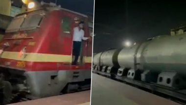 First Milk Train: 45 हजार लीटर दूध लेकर नागपुर से दिल्ली चली पहली मिल्क ट्रेन, देखें VIDEO