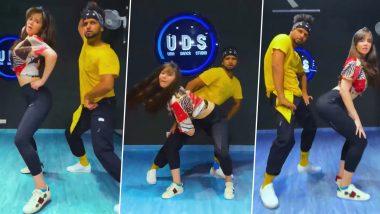 Salman Khan की होनेवाली भाभीGiorgia Andriani का डांस Video हुआ Viral, Malaika Arora को दे रही हैं टक्कर