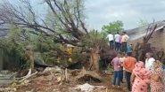 Maharashtra: जलगांव में चक्रवाती हवाओं के कारण झोपडी पर गिरा पेड़, 2 बहनों की मौत