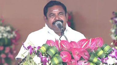 Tamil Nadu: मुख्यमंत्री एडप्पादी के पलानीस्वामी ने राज्यपाल बनवारीलाल पुरोहित को अपना इस्तीफा सौंपा