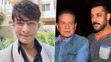 Salman Khan vs KRK: कोर्ट केस से घबराए केआरके ने Salim Khan से मांगी मदद, कहा- Caseने करें, Video डिलीट कर दूंगा