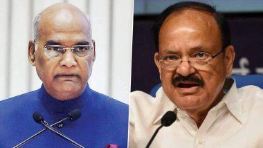 21 Dul Fitr 2021: President Ram Nath Kobind and Vice President M Venkaiah Naidu congratulate people on Dul Fitr