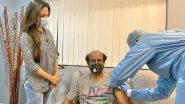 Rajinikanth ने अपने घर पर लगवाई COVID-19 वैक्सीन की दूसरी डोज? जानें सच्चाई