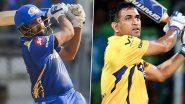 IPL 2021 CSK vs MI: आज होगा सीएसके और मुंबई इंडियंस के बीच महामुकाबला, देखें हेड टू हेड आंकड़े और रिकॉर्ड